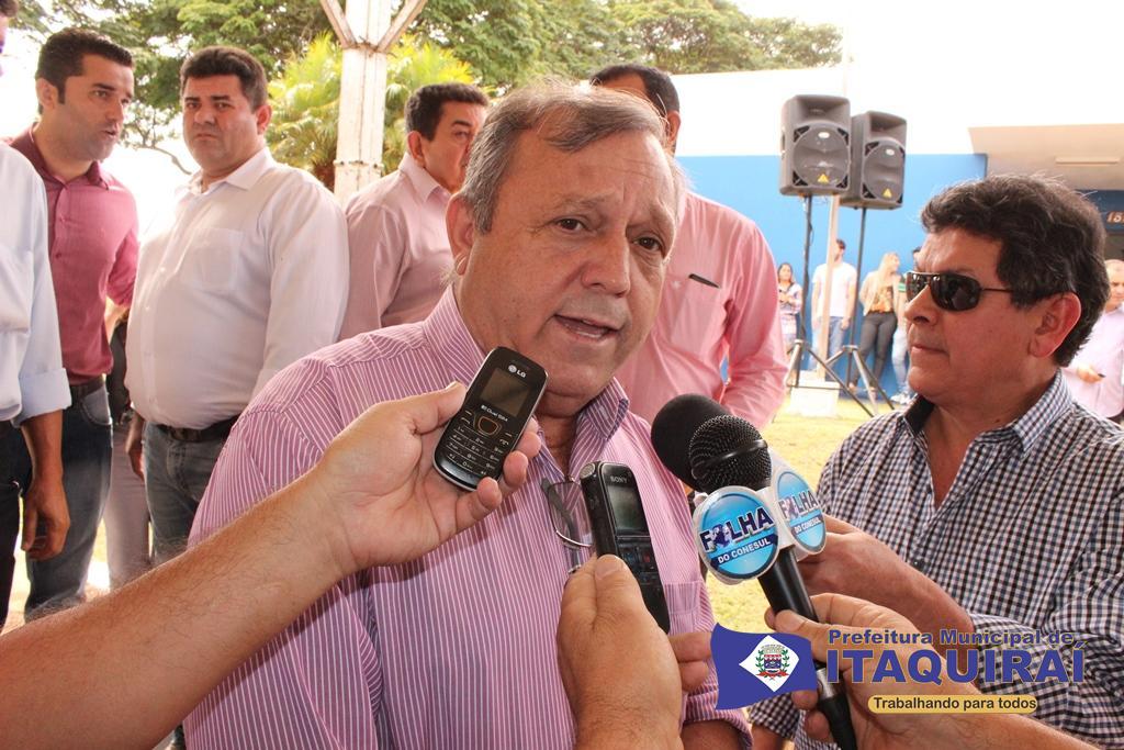 Prefeito ricardo fávaro anuncia transferência do aniversário de itaquiraí para o dia 18 de maio1