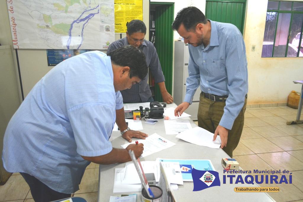 Reunião do conselho de defesa civil de itaquiraí define ações para minimizar impactos provocados pelas intempéries climáticas foto roney minella 1