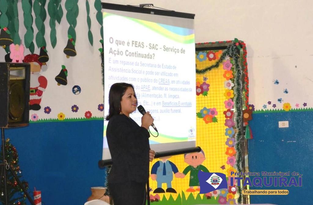 Secretária maria aparecida fávaro apresenta prestação de contas das ações sociais realizadas em itaquiraí 1024x672