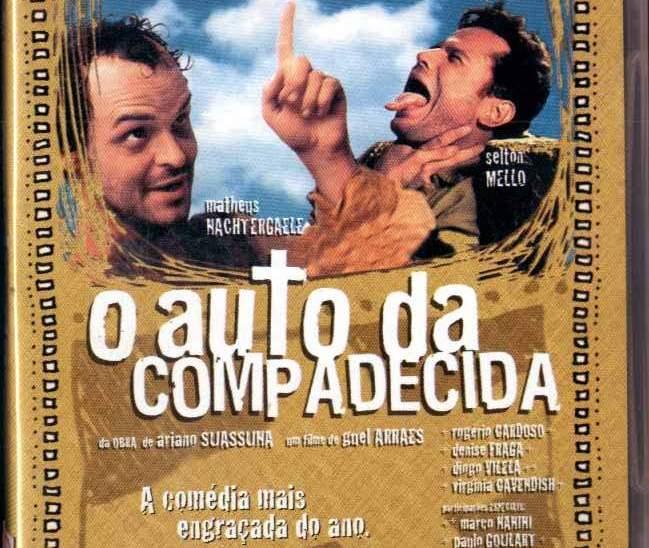 Filmografia literaria brasil o auto da compadecida capa dvd cópia