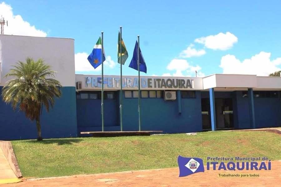 Center sede da prefeitura de itaquira