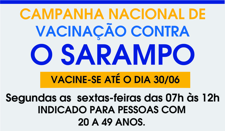 Center sarampo